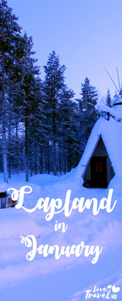 Lapland in January